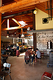 USA, Los Angeles, Venice Beach, an interior view of Local 1205 Restaurant on Abbot Kinney Boulevard