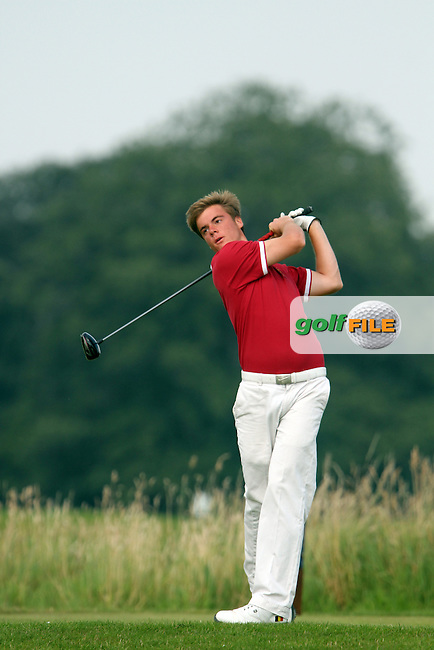 Matthias Boesmans (Belgium) on the Final Day of the International European Amateur Championship 2012 at Carton House, 11/8/12...(Photo credit should read Jenny Matthews/Golffile)...