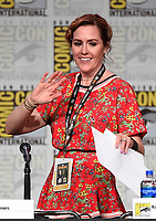 SAN DIEGO COMIC-CON© 2019:  L-R: 20th Century Fox Television's AMERICAN DAD Cast Member Rachael MacFarlane during the AMERICAN DAD panel on Saturday, July 20 at the SAN DIEGO COMIC-CON© 2019. CR: Frank Micelotta/20th Century Fox Television