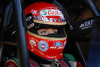 "Jan 20, 2007; Las Vegas, NV, USA; NHRA Funny Car driver Ashley Force during preseason testing at ""The Strip"" at Las Vegas Motor Speedway in Las Vegas, NV. Mandatory Credit: Mark J. Rebilas"