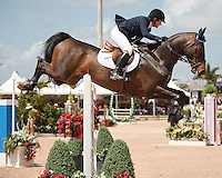 Romantovitch Take One ridden by Christine McCrea,  USEF trials#2 Wellington Florida. 3-22-2012