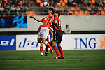 Shandong Luneng vs FC Seoul during the 2009 AFC Champions League Group F match on April 08, 2009 at the ,Shandong Provincial Stadium, Jinan, China. Photo by World Sport Group