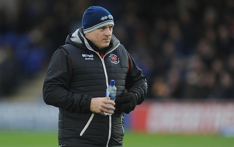 Blackpool Assistant Manager Gary Brabin<br /> <br /> Photographer Kevin Barnes/CameraSport<br /> <br /> The EFL Sky Bet League One - AFC Wimbledon v Blackpool - Saturday 29th December 2018 - Kingsmeadow Stadium - London<br /> <br /> World Copyright © 2018 CameraSport. All rights reserved. 43 Linden Ave. Countesthorpe. Leicester. England. LE8 5PG - Tel: +44 (0) 116 277 4147 - admin@camerasport.com - www.camerasport.com