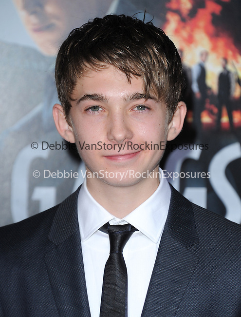 Austin Abrams at Warner Bros Pictures' L.A. Premiere of Gangster Squad held aat The Grauman's Chinese Theater in Hollywood, California on January 07,2013                                                                   Copyright 2013 Hollywood Press Agency