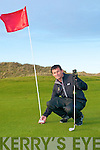 Peter Sheehan who scored two hole in ones on Ballybunion Golf Course.