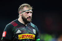 Joe Marler of Harlequins looks on. Aviva Premiership match, between Harlequins and Gloucester Rugby on December 27, 2016 at Twickenham Stadium in London, England. Photo by: Patrick Khachfe / JMP
