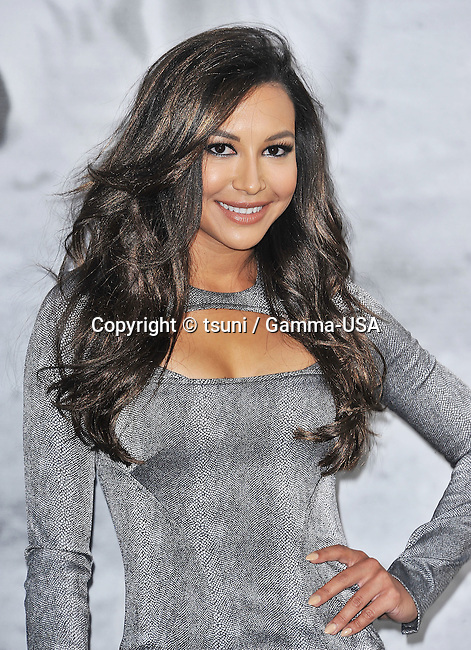 Naya Rivera  arriving at the 42 Premiere at the Chinese Theatre in Los Angeles.