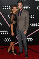 LOS ANGELES, CA - JANUARY 09: Natalie Zea, Travis Schuldt at the Audi Golden Globe Awards 2014 Cocktail Party held at Cecconi's Restaurant on January 9, 2014 in Los Angeles, California. (Photo by Xavier Collin/Celebrity Monitor)