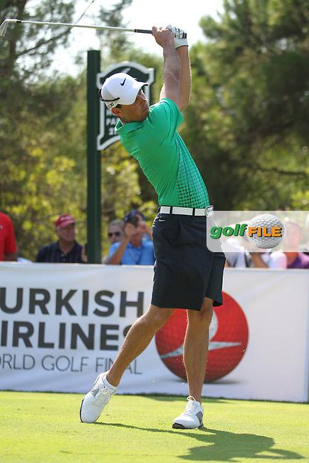 Charl Schwartzel (RSA) during the Turkish Airlines World Golf Final in Antalya Golf Club, Antalya, Turkey.Picture: Fran Caffrey/www.golffile.ie.