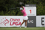 Golfer Scooby Liu of Taiwan during the 2017 Hong Kong Ladies Open on June 9, 2017 in Hong Kong, China. Photo by Chris Wong / Power Sport Images