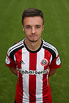 Stefan Scougall of Sheffield Utd during the 2016/17 Photo call at Bramall Lane Stadium, Sheffield. Picture date: September 8th, 2016. Pic Simon Bellis/Sportimage