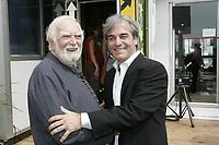 Montreal (qc) CANADA - 2007 file Photo-espace SEDNA V - Rebut Global : <br /> jacques Languirand, Jean Lemire