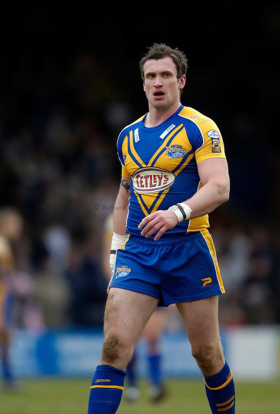 Photo: Jed Wee..Leeds Rhinos v Harlequins Rugby League. Pre Season Friendly. 29/01/2006. ..Jamie Peacock.