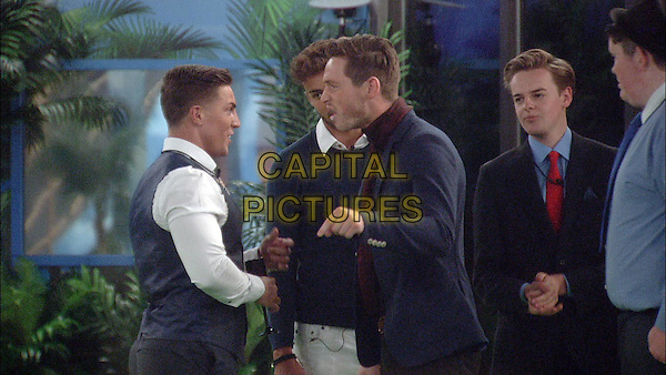 Danny and Marc.<br /> Big Brother Summer 2015 - Day 18<br /> *Editorial Use Only*<br /> CAP/NFS<br /> Image supplied by Capital Pictures