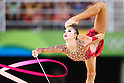 Kaho Minagawa (JPN), <br /> AUGUST 19, 2016 - Rhythmic Gymnastics : <br /> Individual All-Around Qualification Rope <br /> at Rio Olympic Arena <br /> during the Rio 2016 Olympic Games in Rio de Janeiro, Brazil. <br /> (Photo by Sho Tamura/AFLO SPORT)