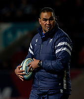 Bristol Bears' Head Coach Pat Lam<br /> <br /> Photographer Bob Bradford/CameraSport<br /> <br /> Gallagher Premiership - Bristol Bears v Wasps - Friday 15th February 2019 - Ashton Gate - Bristol<br /> <br /> World Copyright © 2019 CameraSport. All rights reserved. 43 Linden Ave. Countesthorpe. Leicester. England. LE8 5PG - Tel: +44 (0) 116 277 4147 - admin@camerasport.com - www.camerasport.com