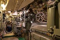 USS Silversides, Gato-class submarine in Muskegon, Michigan.