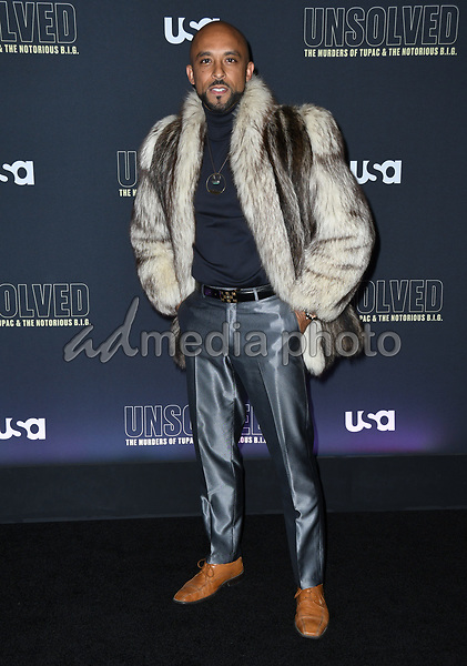 "22 February 2018 - Hollywood, California - David Bianchi. USA Network's ""Unsolved: The Murders of Tupac & The Notorious B.I.G."" held at Avalon Hollywood. Photo Credit: Birdie Thompson/AdMedia"