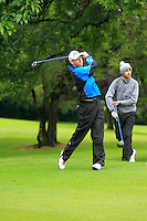 Seamus Cullen (Slieve Russell) on the 3rd tee during round 1 of The Mullingar Scratch Cup in Mullingar Golf Club on Sunday 3rd August 2014.<br /> Picture:  Thos Caffrey / www.golffile.ie