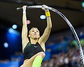2nd February 2019, Karlsruhe, Germany;  Pole Vault Women: Lisa Ryzih (GER). IAAF Indoor athletics meeting, Karlsruhe