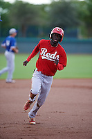 Cincinnati Reds Zach Shields (21) during an instructional league game against the Los Angeles Dodgers on October 20, 2015 at Cameblack Ranch in Glendale, Arizona.  (Mike Janes/Four Seam Images)