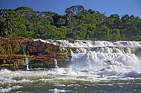 Salto Augusto no Rio Juruena, Parque Nacional Juruena. Mato Grosso. Foto de Zig Koch.