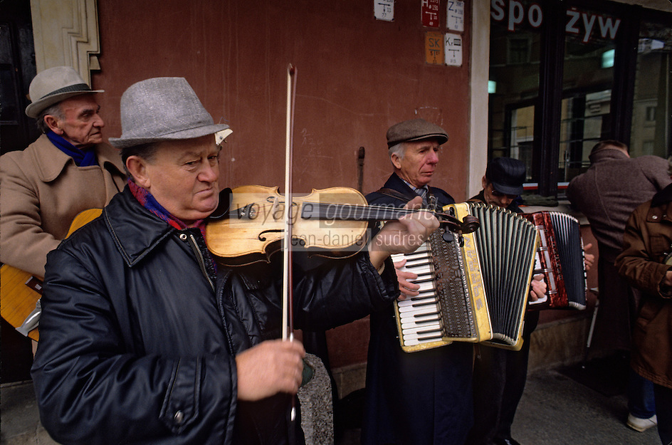 Europe/Pologne/Varsovie: Musiciens dans la vieille ville