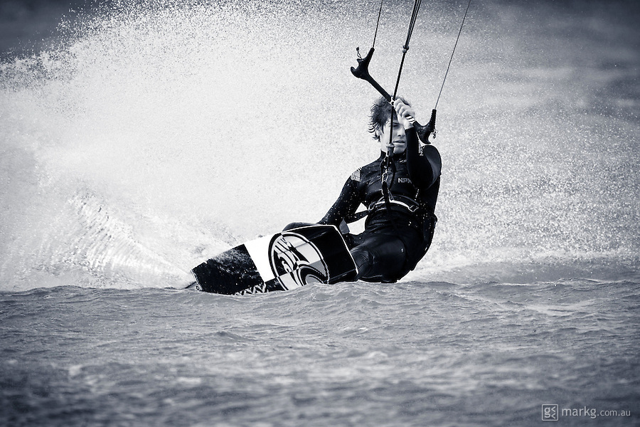"Cabrinha kitesurfing team riders,  Keahi De Aboitiz, Jamie Barrow & Geoffrey ""Chuck"" Waterson, stop by Wellington on their 2011 Cabrinha TOUR of DUTY road trip from Christchurch to Auckland in New Zealand."