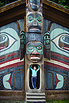 Totem Bight State Park at Ketchikan, Alaska