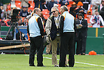 18 November 2007: Houston Dynamo owner Phil Anschutz (center) with head coach Dominic Kinnear (r) and assistant coach John Spencer (l). The Houston Dynamo defeated the New England Revolution 2-1 at RFK Stadium in Washington, DC in MLS Cup 2007, Major League Soccer's championship game.