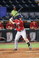 Fort Myers Miracle designated hitter Tanner Witt (16) at bat during a game against the Bradenton Marauders on August 3, 2016 at McKechnie Field in Bradenton, Florida.  Bradenton defeated Fort Myers 9-5.  (Mike Janes/Four Seam Images)