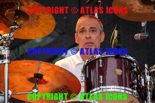 Greg Roberts; BIG AUDIO DYNAMITE; Live: 2011<br /> Photo Credit: JOSH WITHERS/ATLASICONS.COM