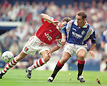 Ally McCoist, Rangers v Arsenal match for Richard Gough's testimonial match August 1996