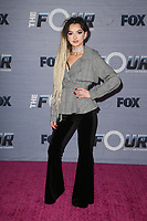 WEST HOLLYWOOD, CA - FEBRUARY 8: Zhavia, Zhavia Vercetti, at The FOX season finale viewing party for The Four: Battle For Stardom at Delilah in West Hollywood, California on February 8, 2018. Credit: Faye Sadou/MediaPunch