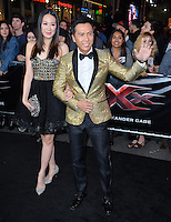 Donnie Yen &amp; Cissy Wang at the Los Angeles premiere for &quot;XXX: Return of Xander Cage&quot; at the TCL Chinese Theatre, Hollywood. Los Angeles, USA 19th January  2017<br /> Picture: Paul Smith/Featureflash/SilverHub 0208 004 5359 sales@silverhubmedia.com