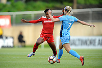 Boyds, MD - Saturday May 6, 2017: Francisca Ordega, Nikki Stanton   during a regular season National Women's Soccer League (NWSL) match between the Washington Spirit and Sky Blue FC at Maureen Hendricks Field, Maryland SoccerPlex.