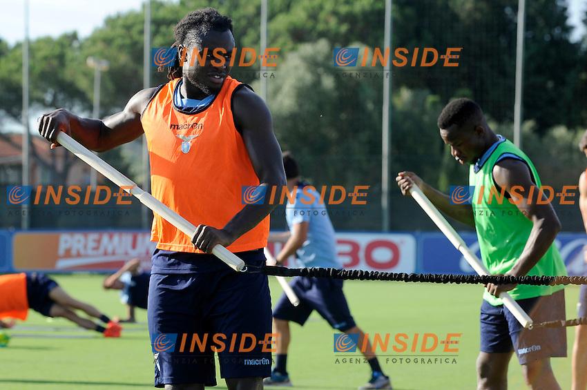 Jordan Lukaku<br /> 28-07-2016 Roma<br /> Allenamento Lazio a Formello<br /> SS Lazio traning day<br /> @ Marco Rosi / Fotonotizia