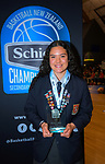 2019 Schick AA Girls' Secondary Schools Basketball National Championship MVP Charlisse Leger-Walker at the Central Energy Trust Arena in Palmerston North, New Zealand on Saturday, 5 October 2019. Photo: Dave Lintott / lintottphoto.co.nz