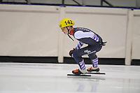 SHORTTRACK: HEERENVEEN: IJsstadion Thialf, 30-01-2015, StarClass 5 (NC-2) Europa Cup, Jeugdwedstrijd (t/m 16 jaar), Robin VAN RIET (#142), ©foto Martin de Jong