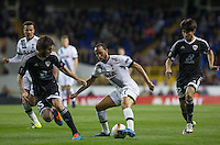 Andros Townsend of Tottenham Hotspur in action during the UEFA Europa League match between Tottenham Hotspur and Qarabag FK at White Hart Lane, London, England on 17 September 2015. Photo by Andy Rowland.