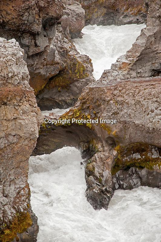 Barnafoss Waterfall Iceland