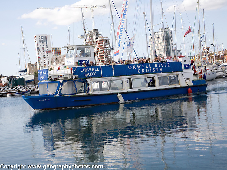 Orwell Lady, Orwell River Cruises, Wet Dock, Ipswich, England