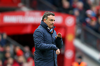 Swansea City manager Carlos Carvalhal during the Premier League match between Manchester United and Swansea City at the Old Trafford, Manchester, England, UK. Saturday 31 March 2018