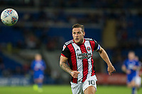 Billy Sharp of Sheffield United during the Sky Bet Championship match between Cardiff City and Sheffield United at Cardiff City Stadium, Cardiff, Wales on 15 August 2017. Photo by Mark  Hawkins / PRiME Media Images.