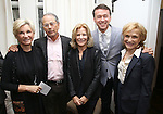 Nancy Harrington, Ron Harrington, Barbara Olcott, Andrew Lippa and Lee Bryant during The DGF's 14th Biannual Madge Evans & Sidney Kingsley Awards at the Dramatists Guild Fund headquarters on April 4, 2016 in New York City.