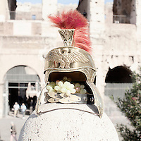 In front of the Coliseum, Rome.