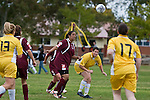 Pukekhohe AFC Womens 3rd team vs Eastern Suburbs football game, played at Bledisloe Park, Pukekohe on Sunday April 27th, 2008..Eastern Suburbs won 2 - 0.