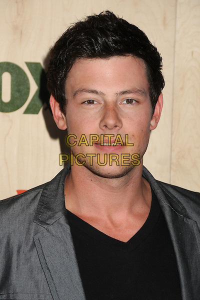 Cory Monteith.7th Annual Fox Fall Eco-Casino Party held at The Bookbindery, Culver City, California, USA..September 12th, 2011.headshot portrait black grey gray.CAP/ADM/BP.©Byron Purvis/AdMedia/Capital Pictures.