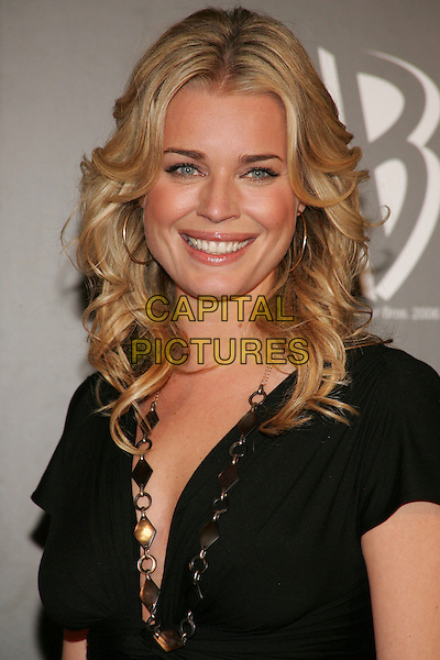 REBECCA ROMIJN.The WB Network's 2006 All Star Party  at Ritz Carlton Huntington Hotel, Pasadena, California ..January 16th, 2006.Photo: William Scott/AdMedia/Capital Pictures.Ref: WS/ADM.headshot portrait necklace hoop earrings.www.capitalpictures.com.sales@capitalpictures.com.© Capital Pictures.