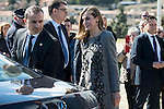 "Queen Letizia during the closing of International Congress ""Woman and Disability"" at congress center ""Lienzo Norte"" in Avila, Spain. March 01, 2017. (ALTERPHOTOS/BorjaB.Hojas)"